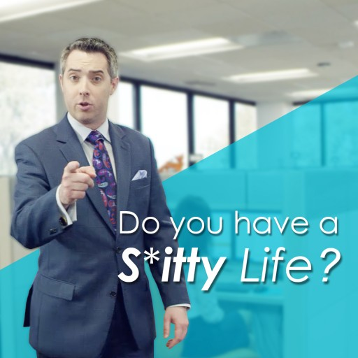 Do You Have a Sitty Life? Versa Vic Has the Answer!