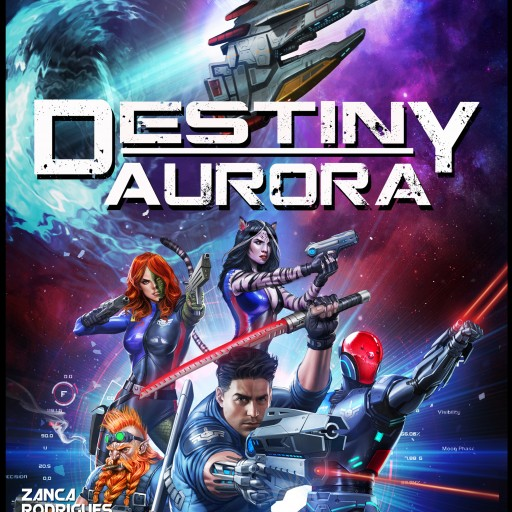 Destiny Aurora Graphic Novel Based on the Successful Novel Series & Table Top Game Hits Kickstarter