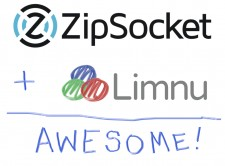 ZipSocket + Limnu = Awesome
