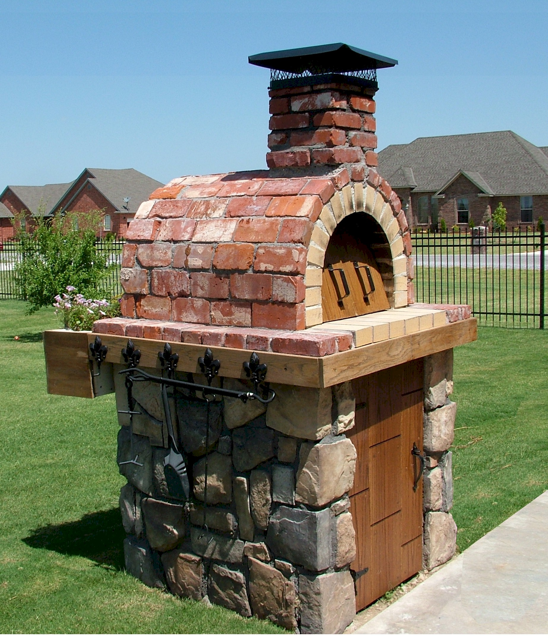 Diy Wood Fired Outdoor Brick Pizza Ovens Are Not Only Easy