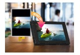 Rugged monitor application with display image rotated