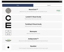 DiagnosticGame app Menu