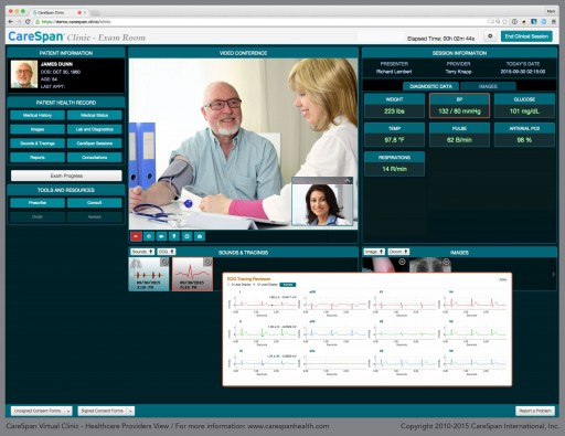CareSpan and Lamprey Networks Deliver the First Online Virtual Clinic That Meets the Standards of an In-Person Medical Exam