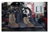 Bates Footwear Made in USA Motorcycle Boots