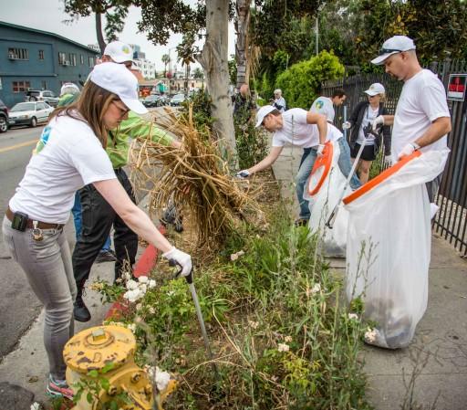 Celebrating June With a Sparkling 'Hollywood Village'