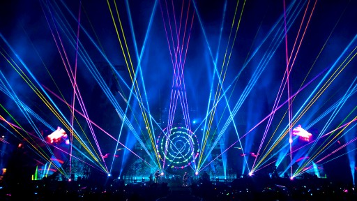 Lasers Enhance Fans Experiences With Aerial Effects at Coldplay's Concerts