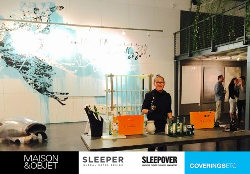CoveringsETC Hosts SleepOver Guests During Maison Et Objet Americas