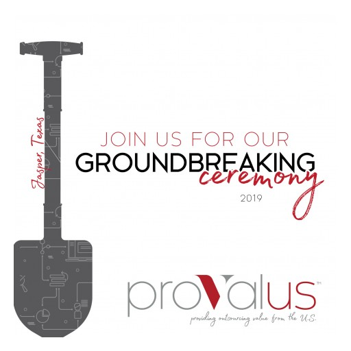 Provalus Job Creation Initiative to Be Celebrated With a Groundbreaking Ceremony