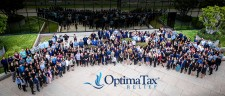 Optima Tax Relief, employee team photo
