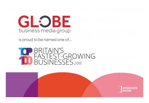 Globe Business Media Group Named 20th Fastest-Growing Business in Britain