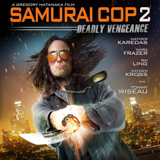 Samurai Cop 2: Deadly Vengeance to Be Released on Blu-Ray and DVD on January 12th