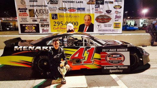 "13-Year Old ""Races"" Into Victory Lane"