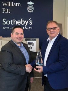 William Pitt and Julia B. Fee Sotheby's International Realty Receives Internet Advertising Honors
