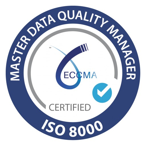 ECCMA Announces Free ISO 8000 Master Data Quality Manager Certification