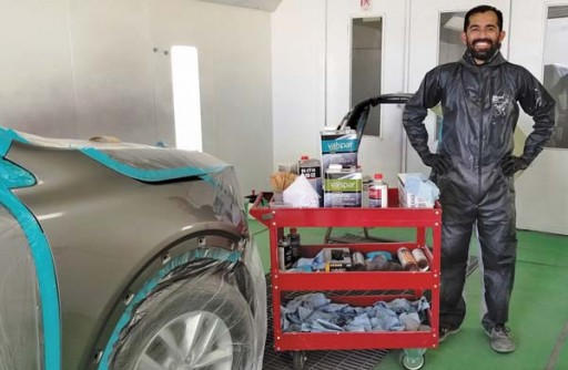 Autobody News: Arizona Shop's Honeymoon Has Been Nothing but Spectacular With Valspar Refinish