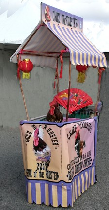 Chico McRooster's Canopy Cart