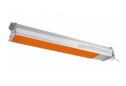 Larson Electronics Releases 60W Explosion Proof Integrated Color LED Light Fixture, 6,938 Lumens