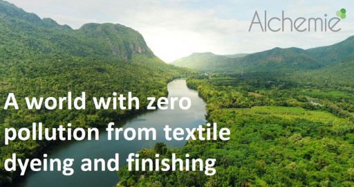Alchemie Technology Team Up With At One Ventures and H&M Group to Deliver Sustainability Breakthrough in Textile Dyeing and Finishing