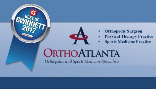 OrthoAtlanta is Voted Best of Gwinnett Winner