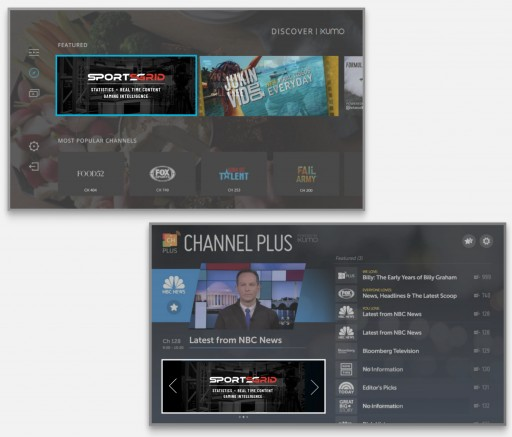 SportsGrid Network Launches on XUMO