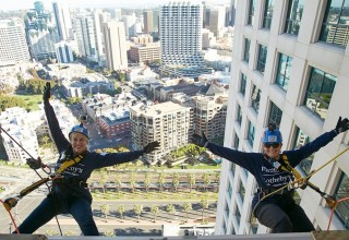 Pacific Sotheby's Realty's Karen Hickman and Kelly Gorman Go Over the Edge