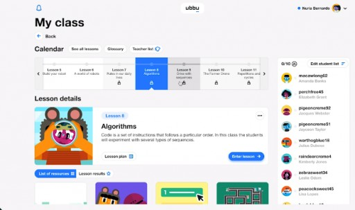Eduscape Launches ubbu in North America to Empower Every K-6 Teacher to Integrate Computer Science in Their Classroom
