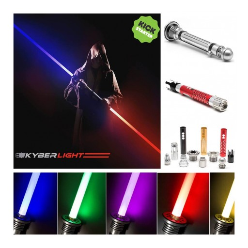 Kyberlight Custom Sabers Crushes Kickstarter Goal by 1014%