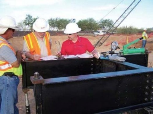 Ram Jack to Build and Stabilize a Foundation for a Four Million Gallon Water Tank