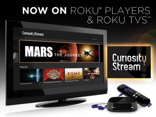 CuriosityStream Launches Roku Channel