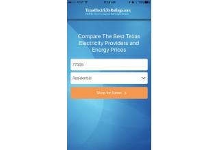 Texas Electricity Ratings Zip Code