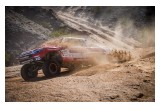 Honda Ridgeline Plowing Through Sand