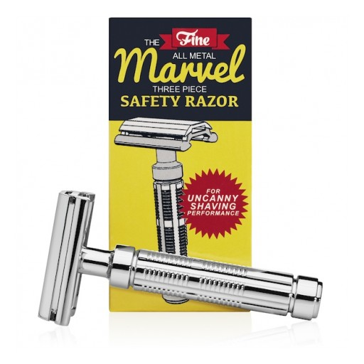 Fine Accoutrements Launches 'Marvel' Safety Razor