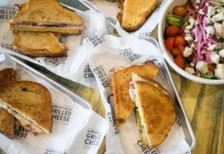 Grilled Cheese and Salads