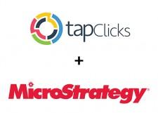 TapClicks and MicroStrategy Partner