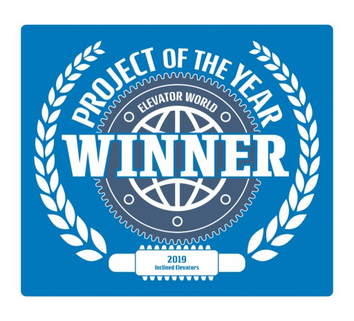 Elevating Innovation: Elevator World Awards Project of the Year to Hill Hiker, Inc.