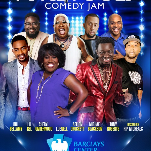 Brooklyn's Barclays Center to Host April Fools Comedy Jam With Sheryl Underwood, Michael Blackson, Lil Rel and More