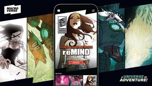 Comics App Macroverse Scores First Eisner Award Nomination With Adaptation of Jason Brubaker's reMIND!