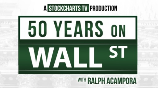 StockCharts.com Features Legendary Chartist Ralph Acampora in First Original Documentary Short '50 Years on Wall Street'