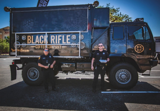 Black Rifle Coffee Company Honors Service Members & First Responders on the Front Lines of Service