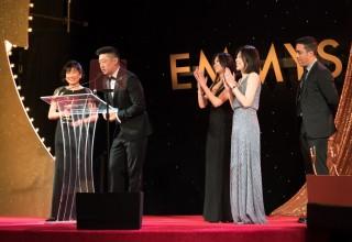 Jon Shao of Dragonbridge Accepts Emmy