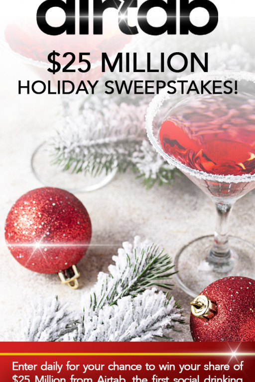 AirTab Launches the Largest Holiday Contest in History to Benefit the National Restaurant Association Educational Fund to Support the #saveourbars&restaurants Movement