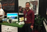 Chief Birding Officer Bryson Lovett pictured at the 2016 National Hardware Show.