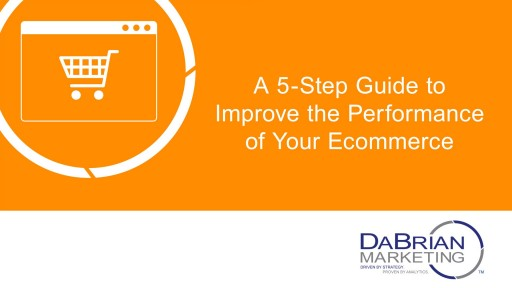 A 5-Step Guide to Improve the Performance of Your Ecommerce