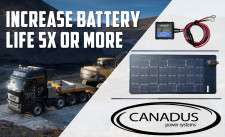 Canadus One System Battery Solution