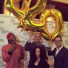 (From Left) Slim 400, BudTrader CTO Scott Edge and BudTrader CEO Brad McLaughlin