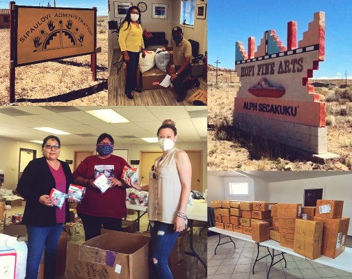 Navancio Helps Pandemic-Stricken Hopi Communities With Masks, Gloves and Other PPE Supplies