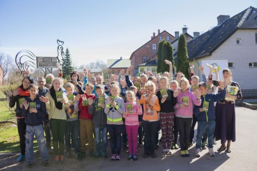 Latvian Children Learn Values From the Way to Happiness