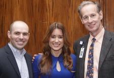Atlanta 2018 Walk to Cure Arthritis representatives including Jamie Johnson and Meredith Boyd of the Arthritis Foundation Southeast Region with 2018 Medical Honoree Todd Schmidt, MD, OrthoAtlanta