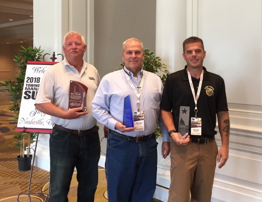 Three Towing Industry Leaders Earn National Recognition