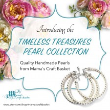 Introducing the Timeless Treasures Pearl Collection, by Mama's Craft Basket